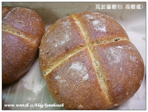 馬鈴薯麵包(裸麵種)