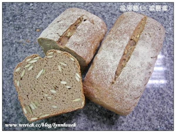 裸麥麵包(裸麵種)