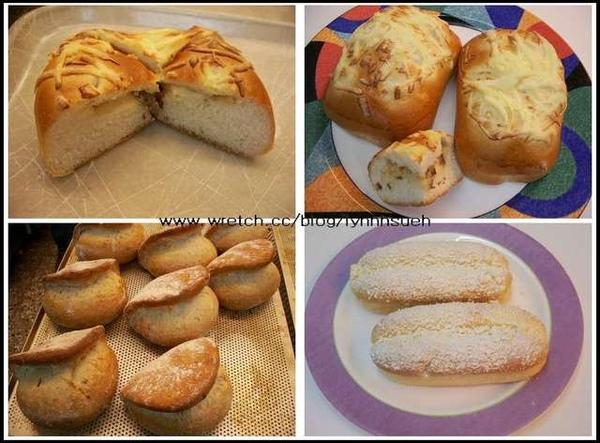 莊鴻銘老師麵包課程成品照