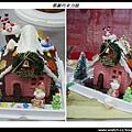 耶誕巧克力屋