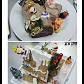 樹幹蛋糕及薑餅屋