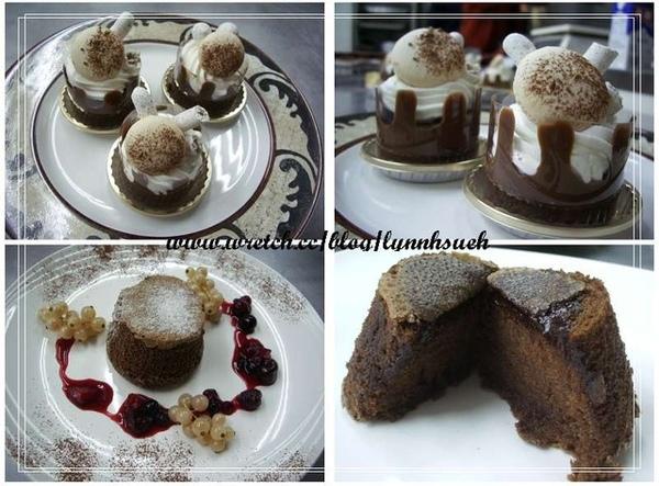 皇后-巧克力蛋糕協奏曲&卡多卡熱巧克力蛋糕