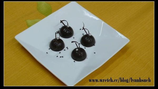 黑芝麻巧克力