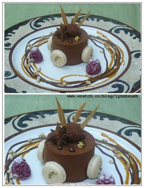 焦糖巧克力慕斯