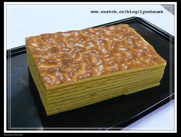 林倍加師傅-千層蛋糕