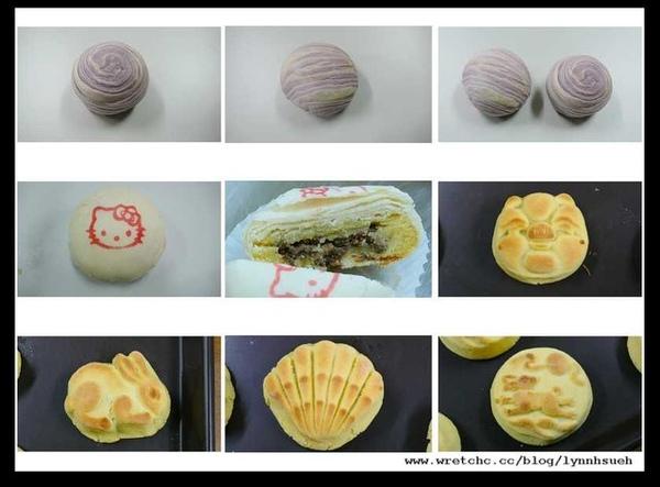 郭師傅-芋香奶皇酥,綠豆椪,桃山月餅