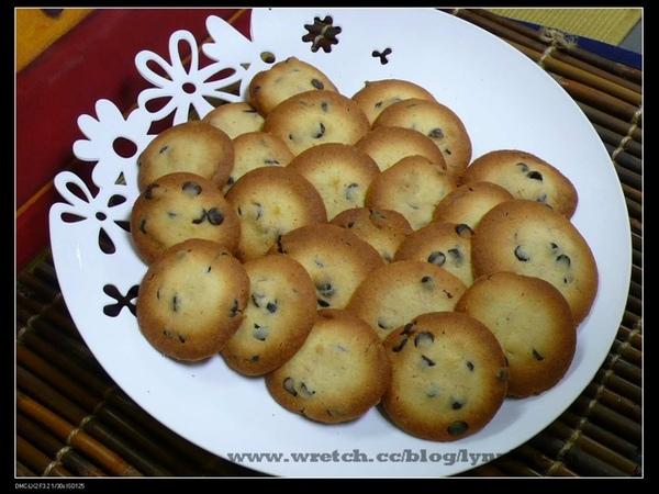 施師傅-法式巧克力豆餅乾