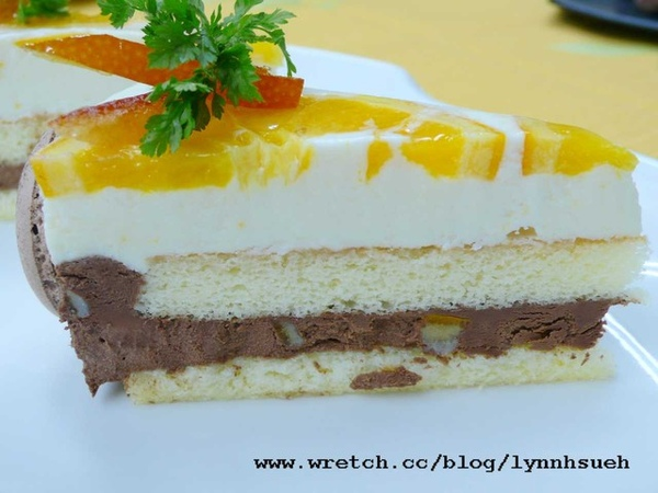 皇后-三角柳橙巧克力蛋糕