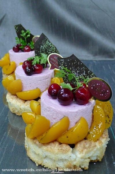 皇后-法式水果達瓦蛋糕