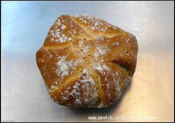 飛訊-有機天然酵母洛神花麵包