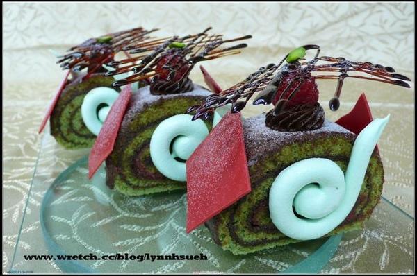 皇后-聖誕樹輪蛋糕