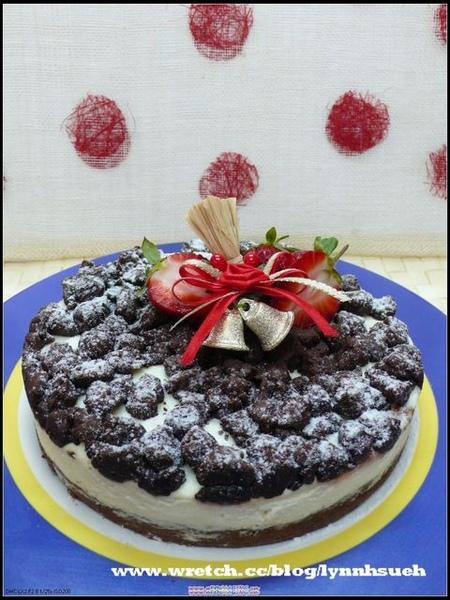 96.12.08蒲老師-法芙娜珍珠巧克力蛋糕