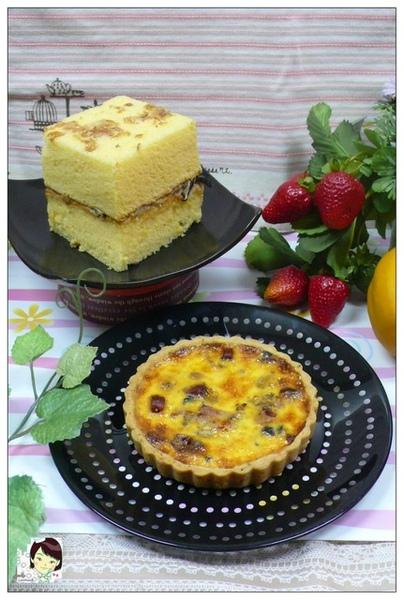 98.03.29施師傅-竹筍鹹蛋糕&普羅旺斯鹹派