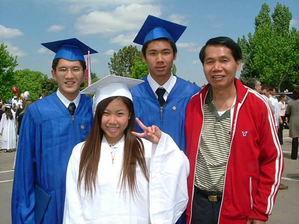 美國高中畢業