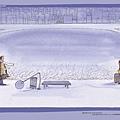 幾米-桌布-雪,靜靜的落下