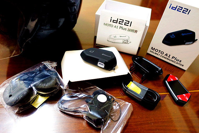 安全帽藍芽耳機推薦— id221 MOTO A1 Plus