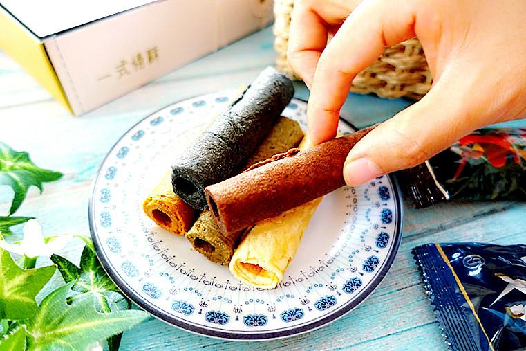 谷溜谷溜guliuguliu|一式情酥|手工蛋捲|英式紅茶|極黑芝麻|經典原味|濃醇巧克力|麻辣花生