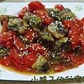 糖醋番茄炒皮蛋