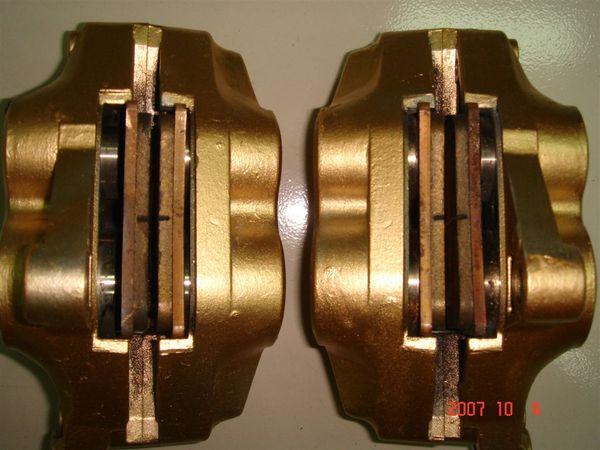 TZR250  左右對四活塞卡鉗 + 金屬油管*2