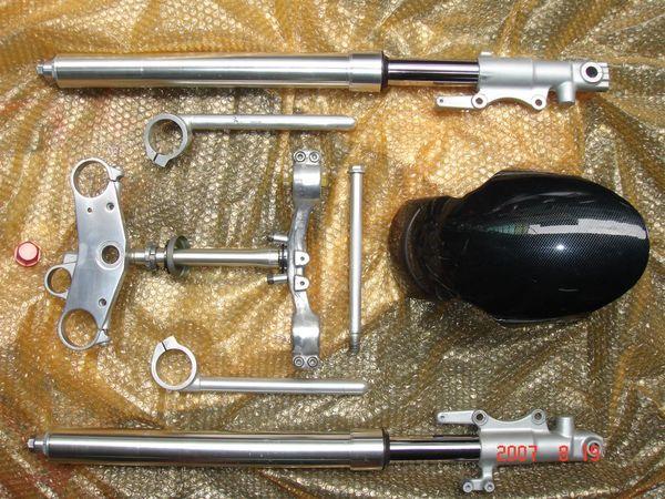 TZR  250  倒叉組