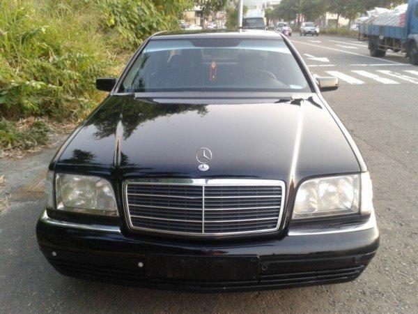 1996年10月出廠的97年式末代W140 S320