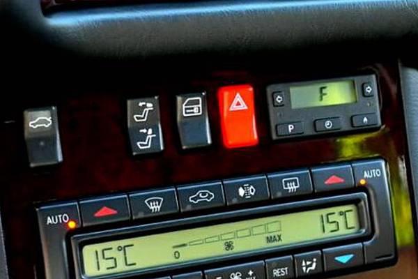 W140暖氣輔助系統