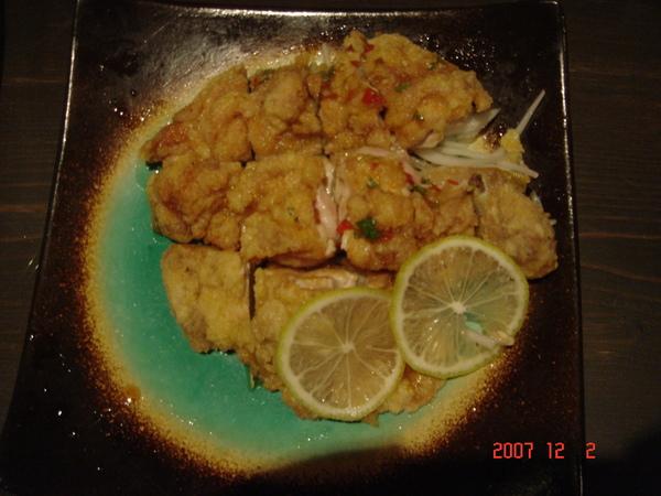 檸檬辣椒雞