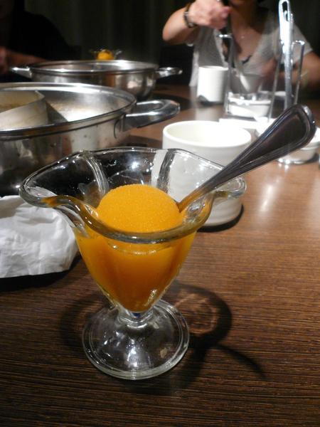 芒果冰沙...