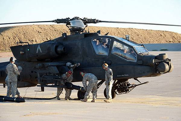 AH-64D Apache Longbow with Hellfire missiles