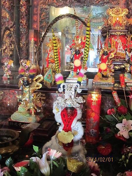 感謝台中大里聖羅會蒞臨雲林永安宮二太子廟參香結緣