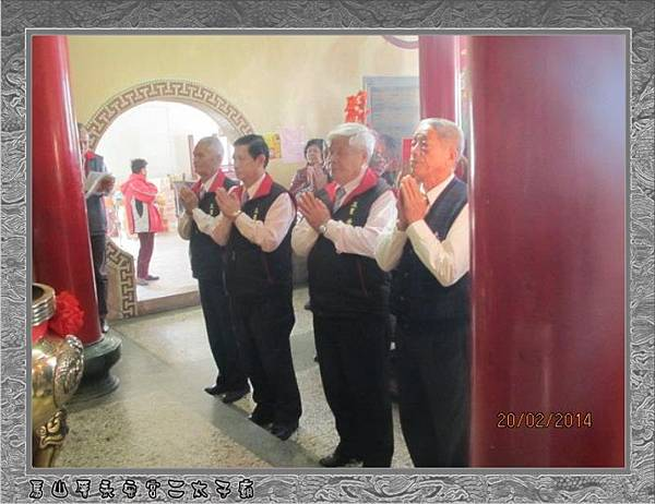 感謝宜蘭三星甘泉寺蒞臨雲林永安宮二太子廟參香10