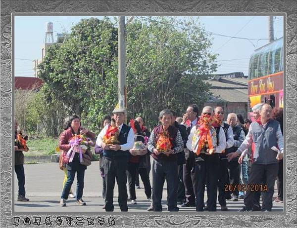 2014宜蘭三星甘泉寺蒞臨雲林永安宮二太子廟參香