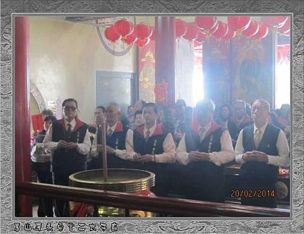 感謝宜蘭三星甘泉寺蒞臨雲林永安宮二太子廟參香1