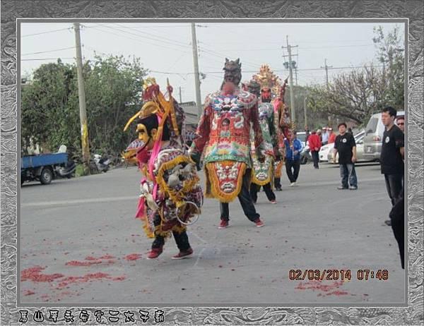 2014感謝新北市三重玄極宮進香團蒞臨雲林永安宮二太子廟參香30.jpg