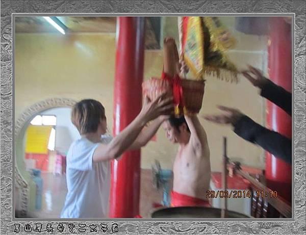 感謝嘉義聖帝堂蒞臨雲林永安宮二太子廟進香2014-2-29★15