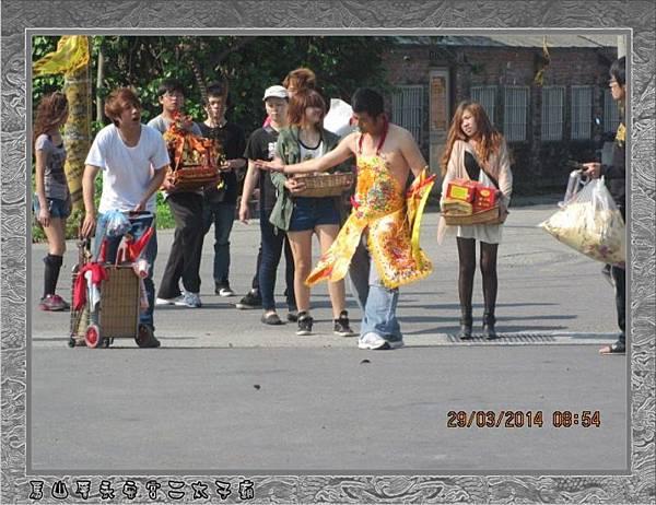 感謝嘉義聖帝堂蒞臨雲林永安宮二太子廟進香2014-2-29★16