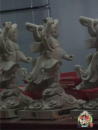 2014甲午年雲林馬山厝永安宮二太子廟木吒太子元帥(分靈白身)3.jpg