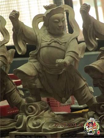 2014甲午年雲林馬山厝永安宮二太子廟木吒太子元帥(分靈白身)9.jpg