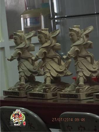 2014甲午年雲林馬山厝永安宮二太子廟木吒太子元帥(分靈白身)7.jpg