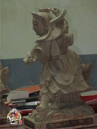 2014甲午年雲林馬山厝永安宮二太子廟木吒太子元帥(分靈白身)10.jpg