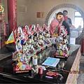 2014-9-19雲林永安宮二太子廟分靈木吒太子元帥分靈寶像 開光啟靈