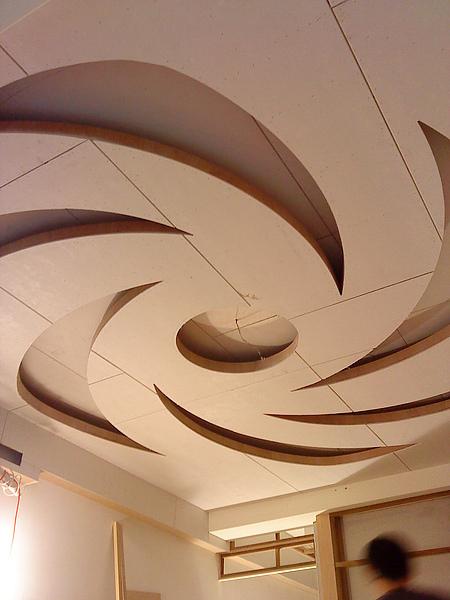 30年木作工程團隊2010年颱風眼型矽酸鈣天花板洽詢專線0933-733-295