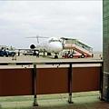 那是我坐的飛機