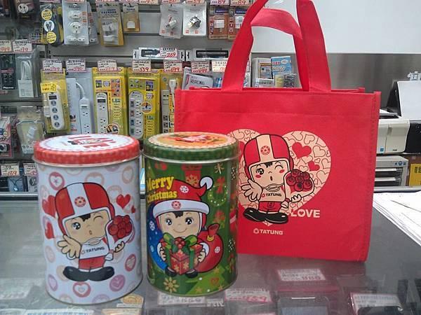 【限量】聖誕大同寶寶手工蛋捲禮盒