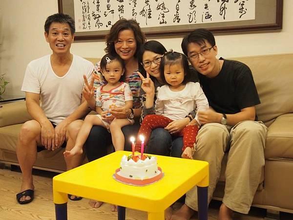 小紫瑜兩歲了