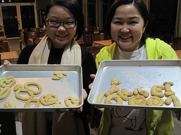 來自新加坡吃風letTravel編輯主任陳蕙萍專訪手工餅乾DIY