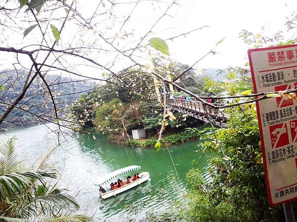 梅花湖遊湖