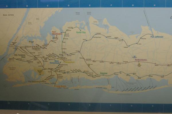 火車路線圖