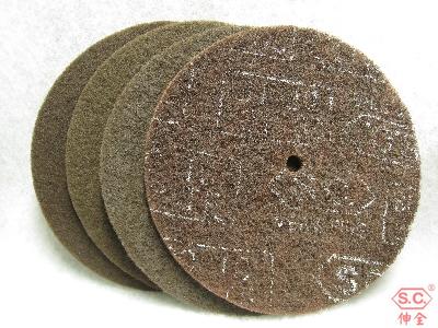 """伸全不織布研磨圓片nonwoven pad, abrasive pad 12"""""""