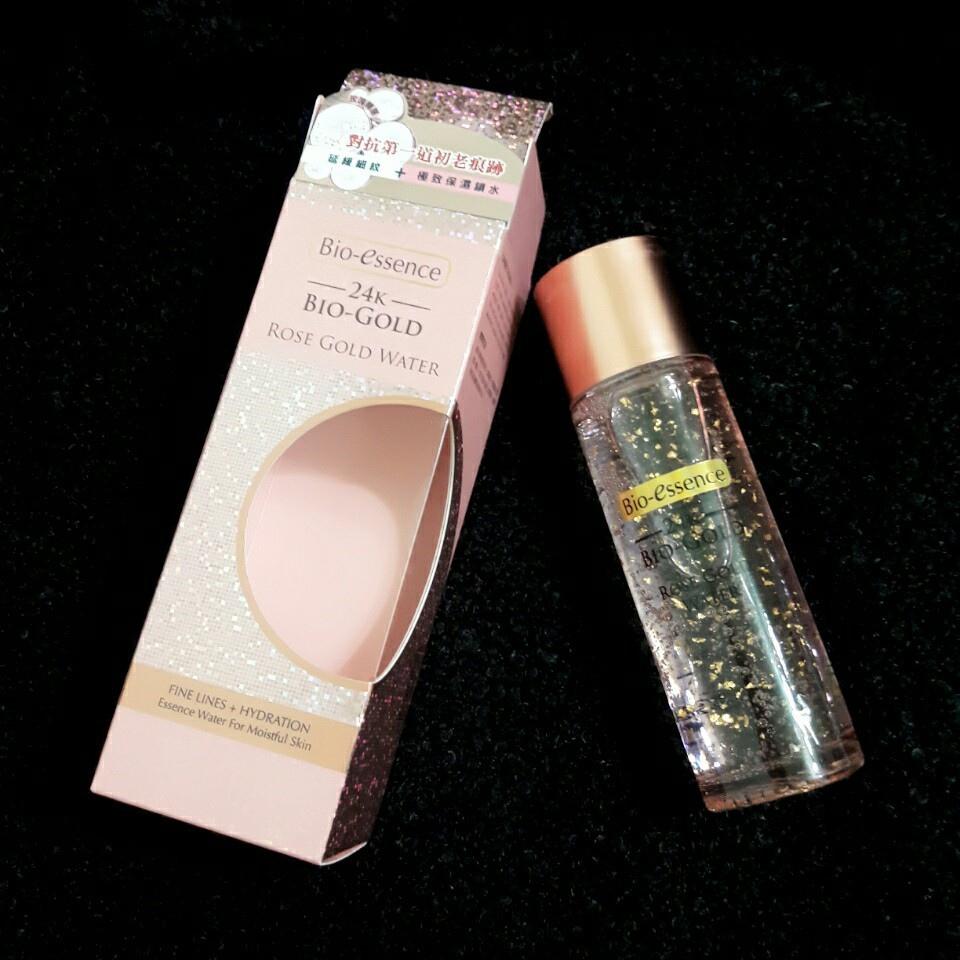 【你的第1瓶瑰蜜青春金華水】Bio-essence碧歐斯 24K生物黃金玫瑰精華露